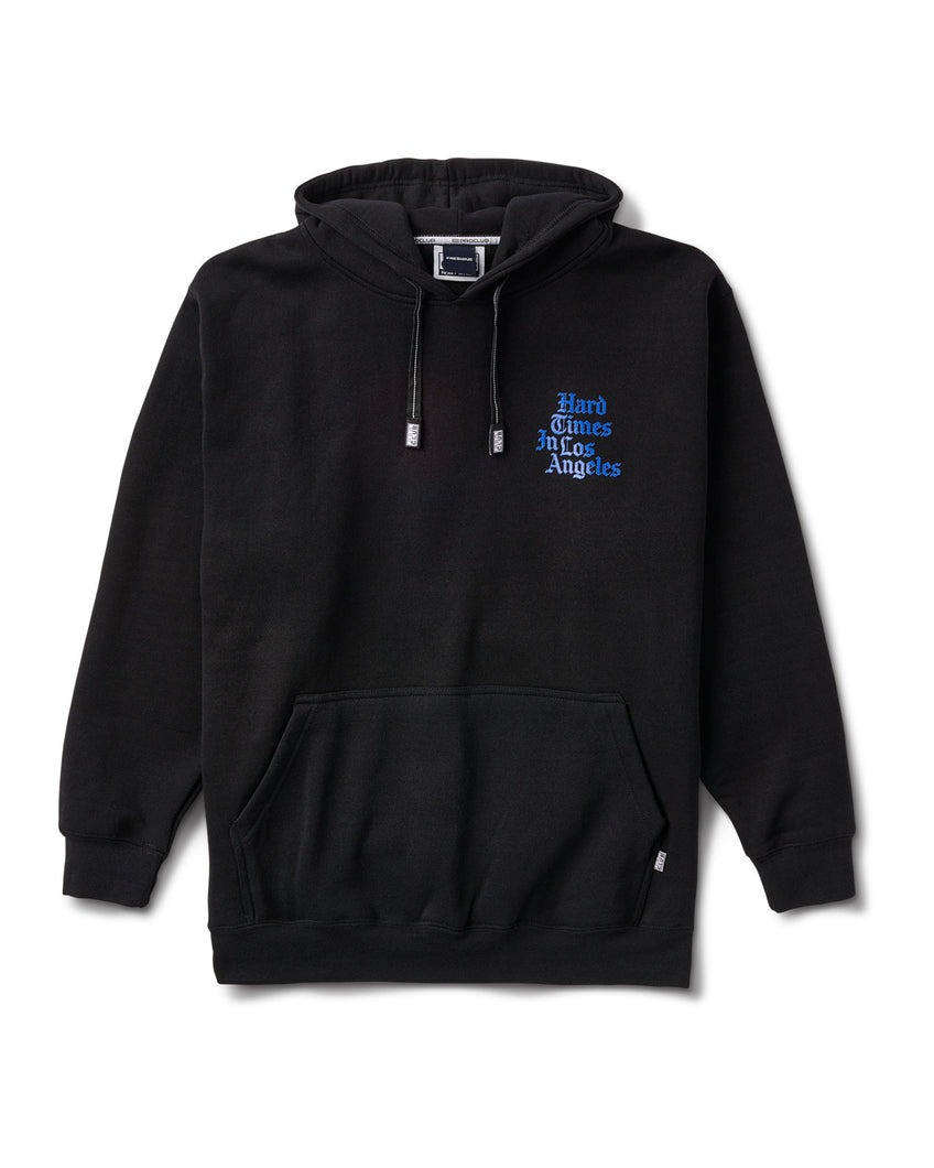 Pro Club Hard Times Hoody Black