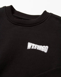 WTFIRGO Loose Crew Black
