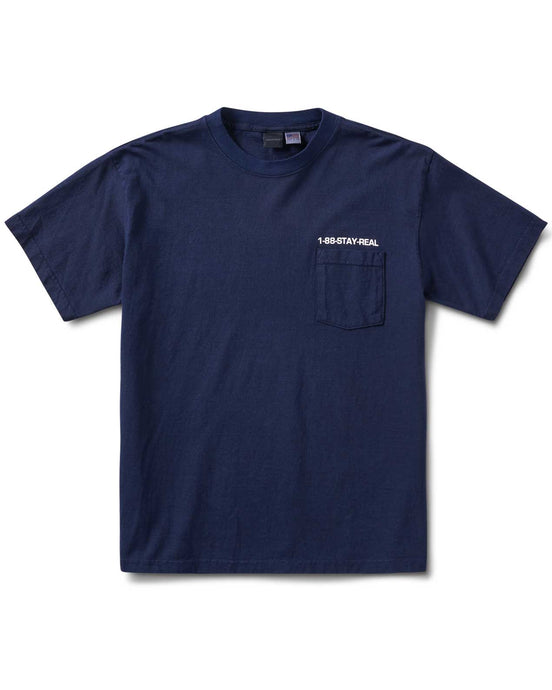 Poser's Pocket S/S T Blue