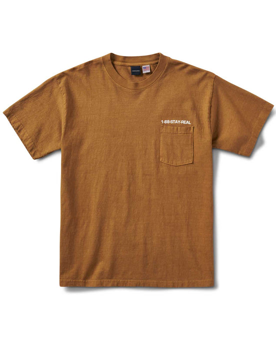 Poser's Pocket S/S T Tan