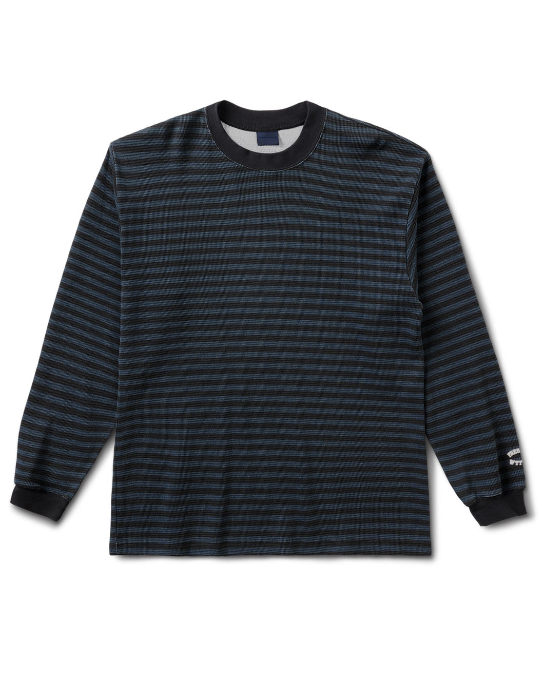 Biker Stripe Thermal L/S Grey
