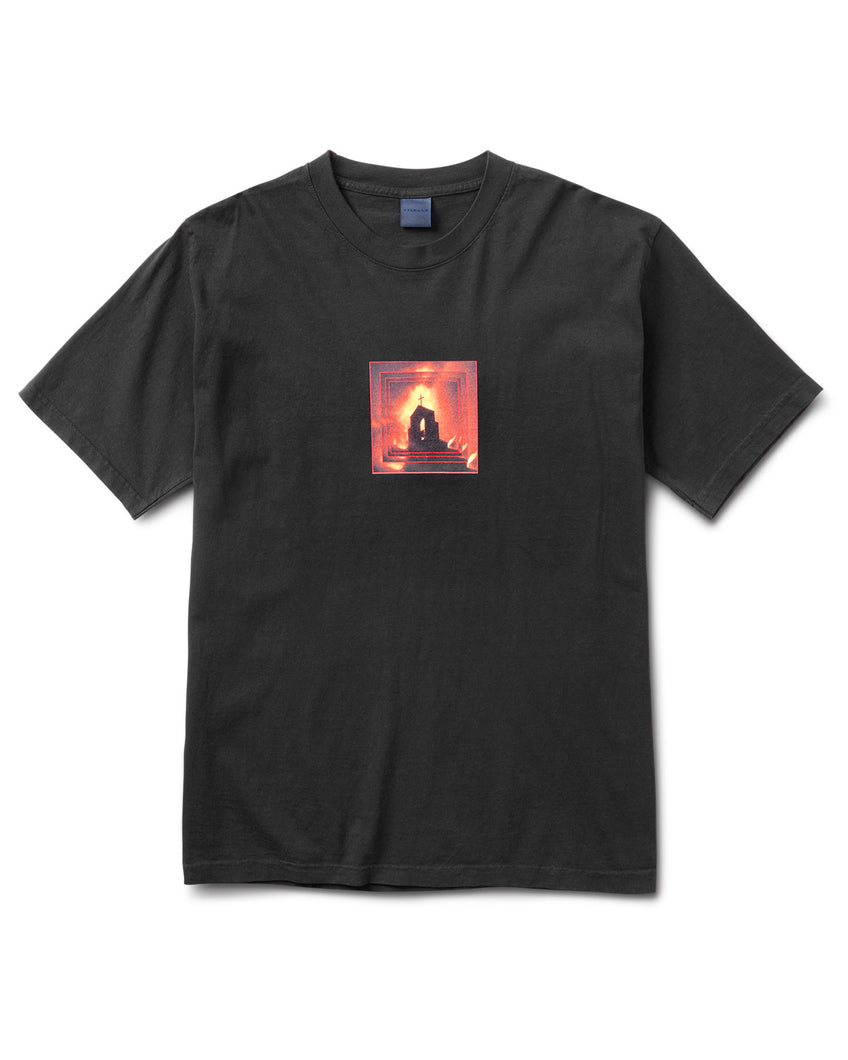 Church On Fire T Black
