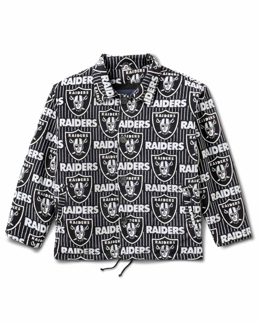 Raiders Jacket Srtipe