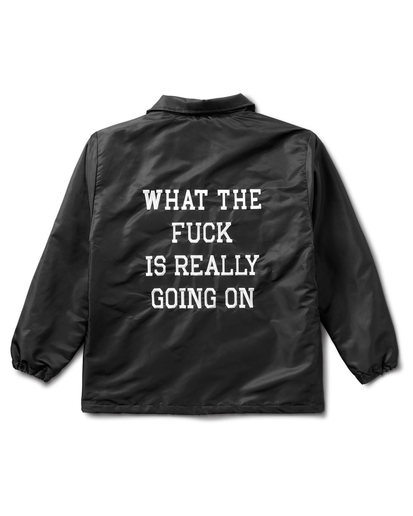 What The Fuck Member Jacket Black