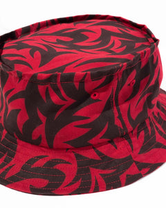 Tribal Bucket Hat Red