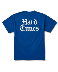 Hard Times S/S T Blue