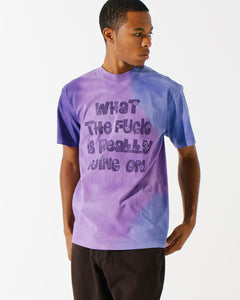 WTFIRGO Flowers S/S Tee Purple