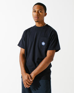 Daisy Pocket S/S Tee Navy