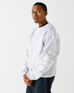 Banner Crewneck Athletic Heather