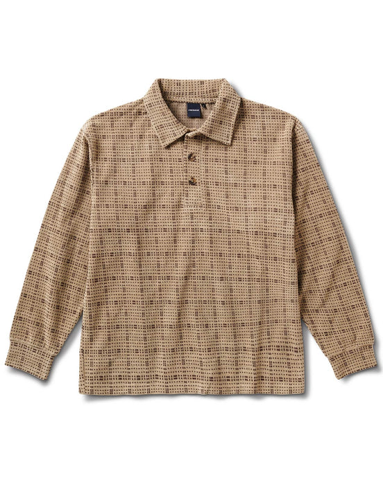 Oakwood Squares Shirt Tan