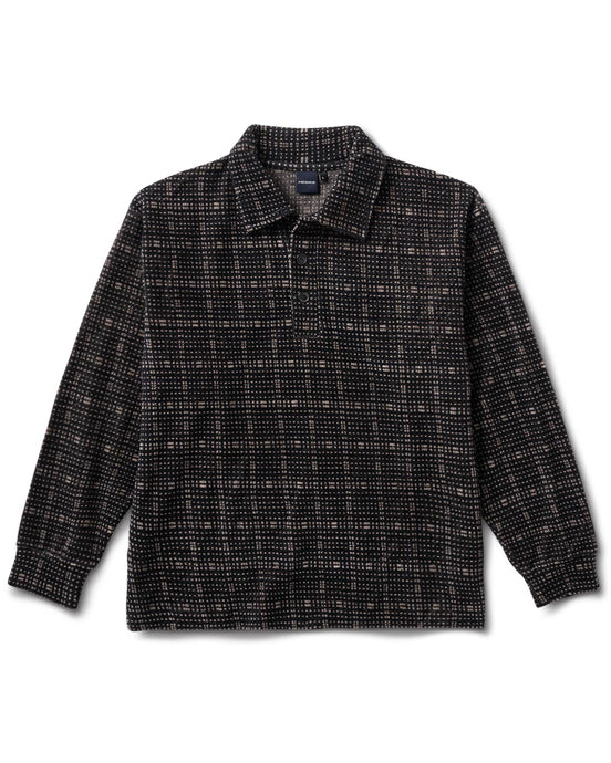 Oakwood Squares Shirt Black