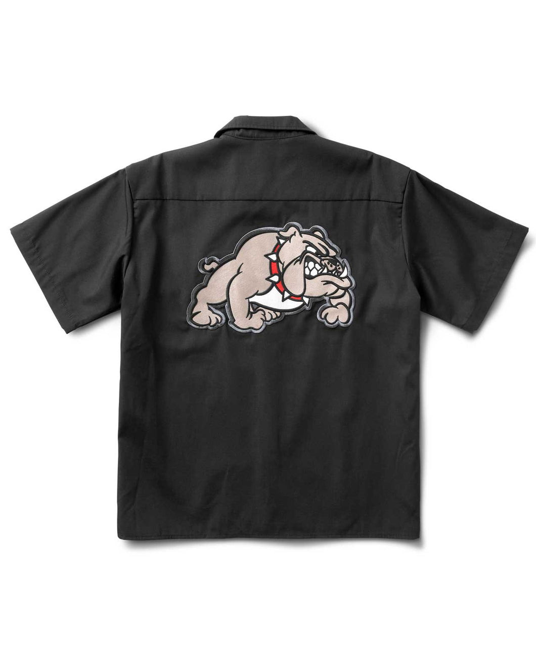 Bulldog Work Shirt Black
