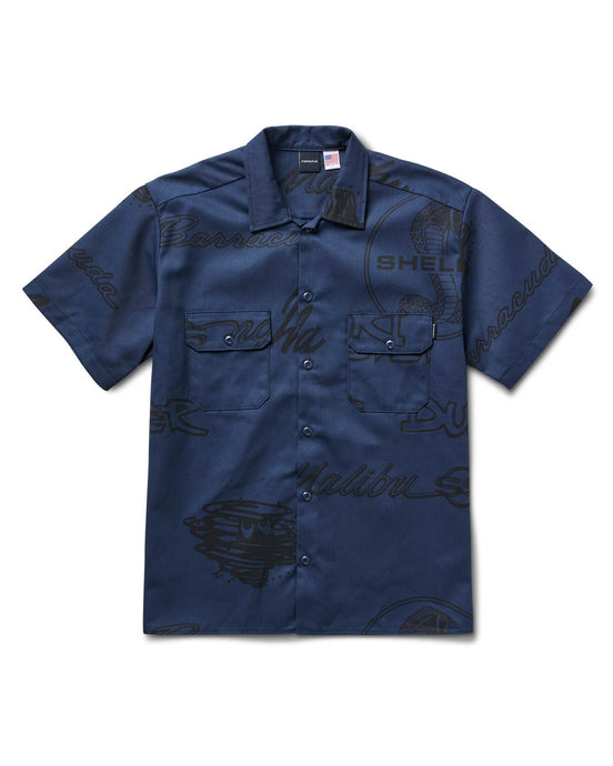 Muscles Shirt Blue