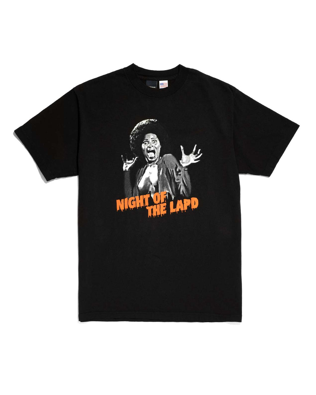 Night of the LAPD Tee Black