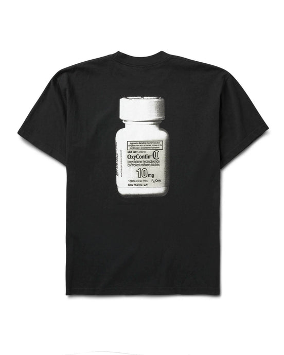 Bad Pharma Tee Black