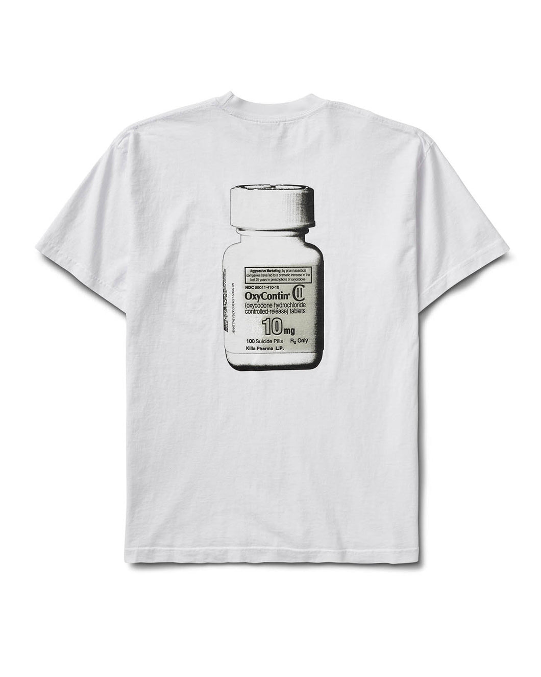 Bad Pharma Tee White