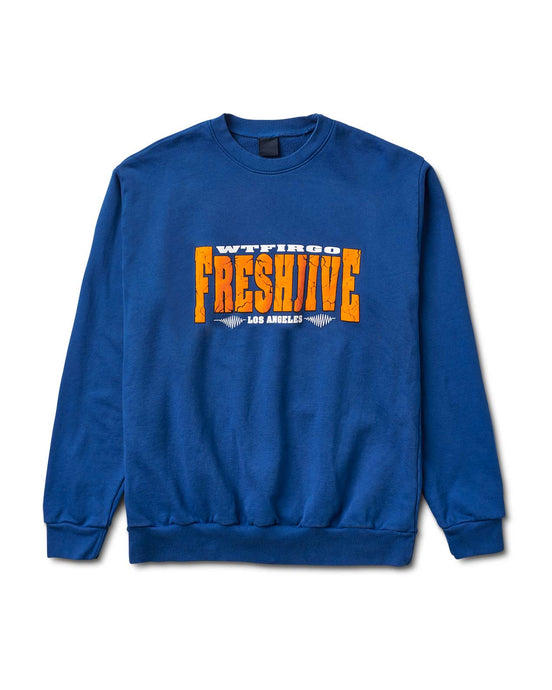 Quake Crewneck Blue