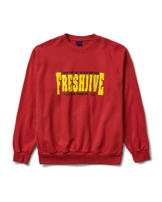 Quake Crewneck Red