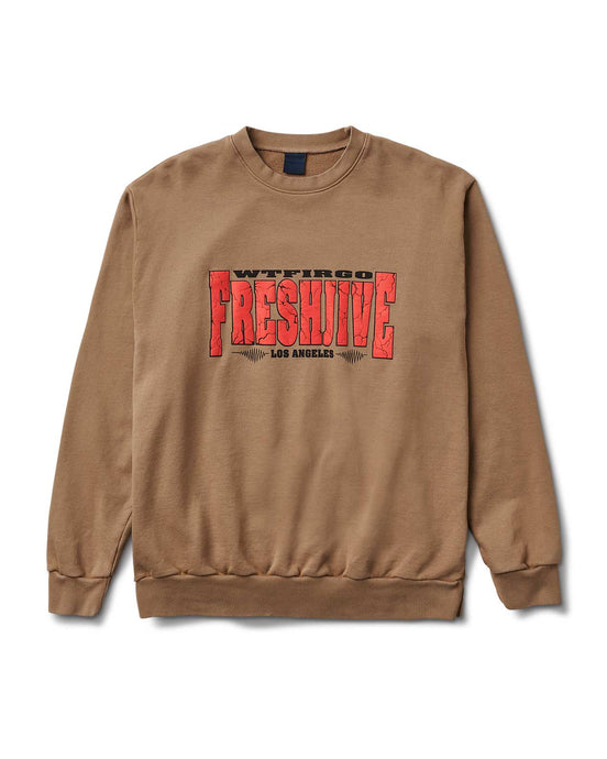 Quake Crewneck Tan