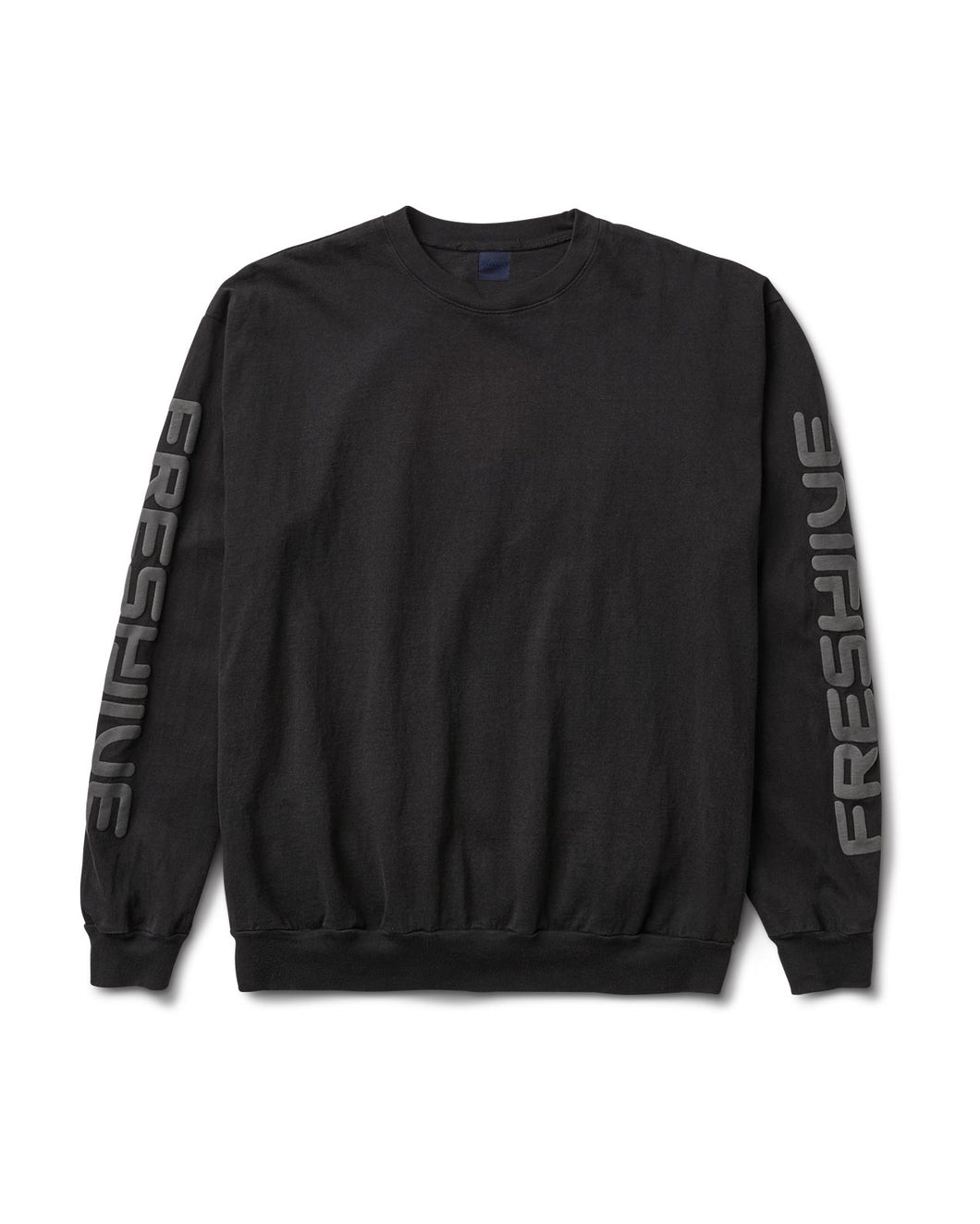 Sponsor Long Sleeve Tee Black