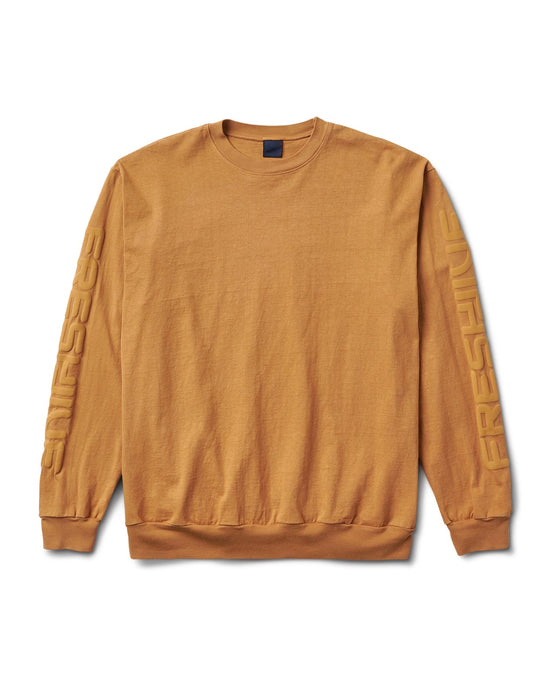 Sponsor Long Sleeve Tee Tan