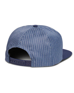 Ensignia Cap Striped Indigo