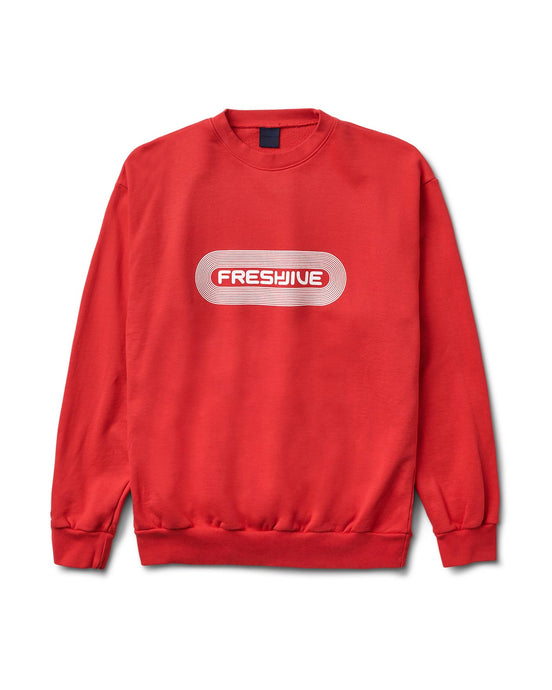 Pill Logo Crewneck Red