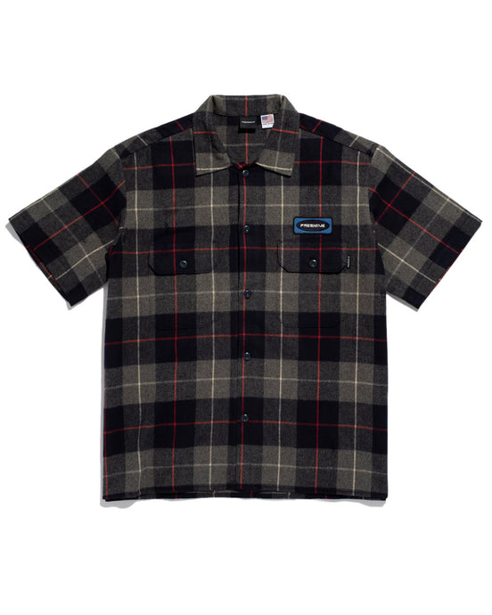 Workers Shirt Navy Plaid