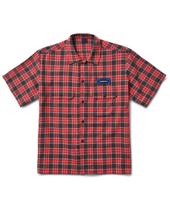 Workers Shirt Red Plaid