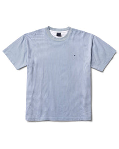 Verts Stripe Tee Tan
