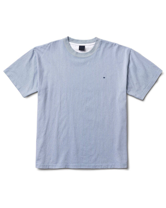Verts Stripe Tee Blue
