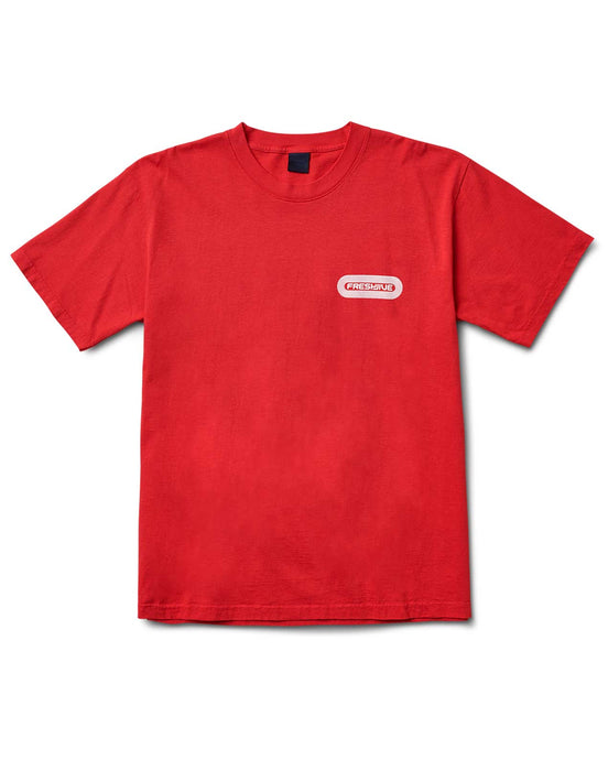 Pill Logo Tee Red