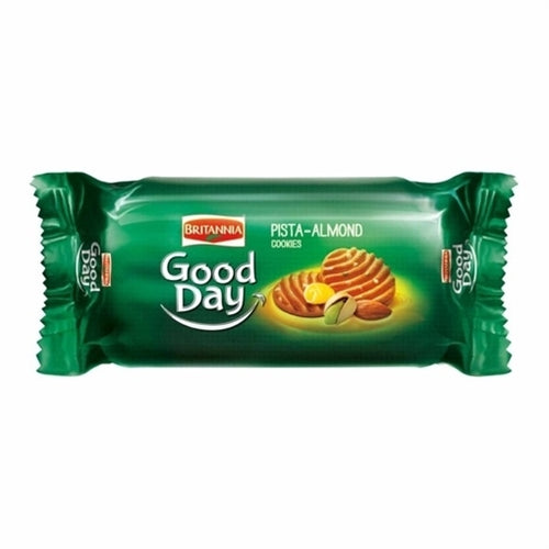Britannia Good Day Pista & Almond Cookies 72g Cestaa Ireland Online Grocery Dublin
