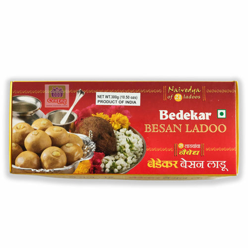 Bedekar Ganapati Special Small Besan Ladoo 300g Cestaa Retail Ireland Online Grocery Store Dublin