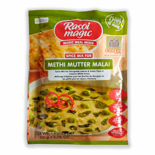 Rasoi Magic Metho Mutter Malai Cestaa Retail Ireland Online Grocery Store Dublin