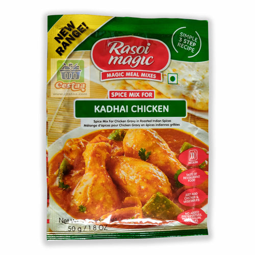 Rasoi Magic Chicken Kadhai / Kadhaai 50g Cestaa Ireland Online Grocery Dublin