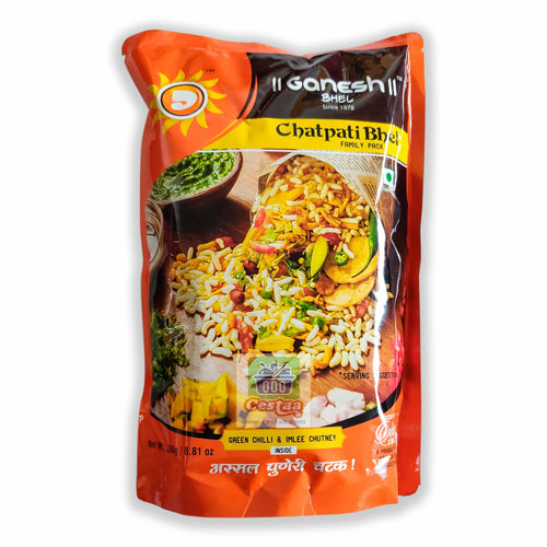 Famous Ready to eat Ganesh Chatpati Bhel from Pune, Maharashtra India Cestaa Retail Ireland Online Grocery Store Dublin