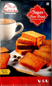 Saras Sugarfree Toast 200g