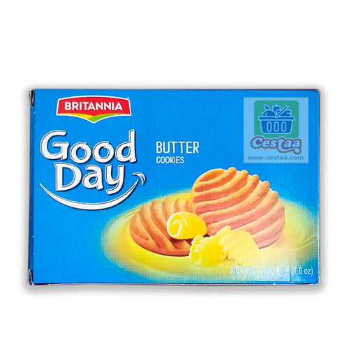 Britannia Good Day Butter Cookies 216gm  Cestaa Ireland Online Grocery Dublin