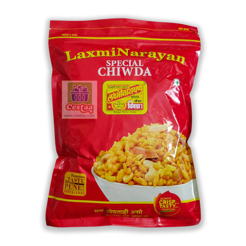 LaxmiNarayan Poha Best Chiwda or Chivda or Chiwada Cestaa Ireland Online Grocery Dublin
