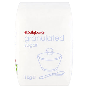 Daily Basics Granulated Sugar 1Kg