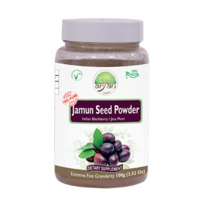 Aryan Jamun (Indian Berry) Seed Powder 100g
