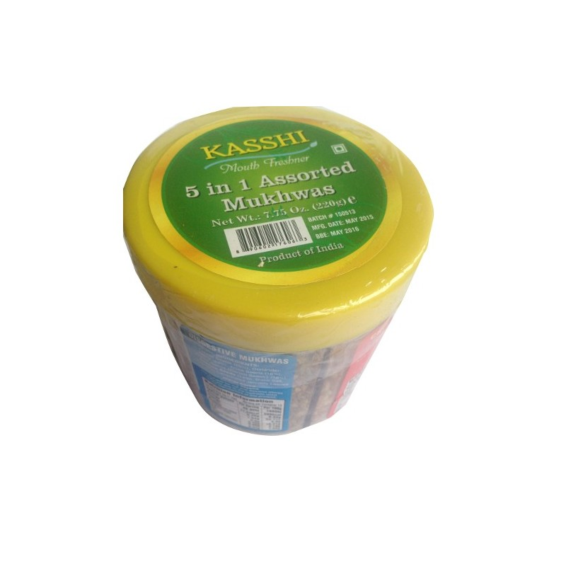 Kasshi 5 In 1 Mukhwas (Post Meal Digestive Snacks) 200g