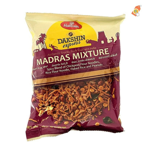 Haldiram Dakshin Express Madras Mixture 180g Cestaa Ireland