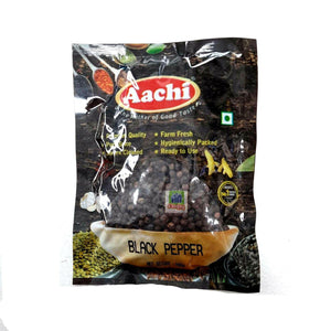 Aachi Black Pepper Whole 100g