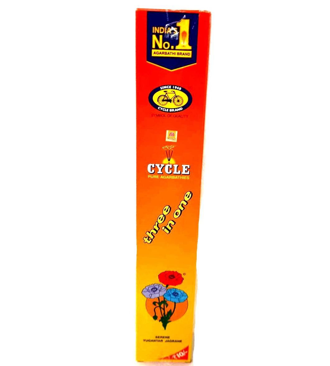 Cycle  3 In 1 Incense Sticks 19g