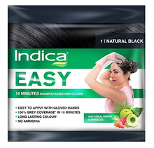 Load image into Gallery viewer, Indica Easy Natural Black Hair Color 25ml