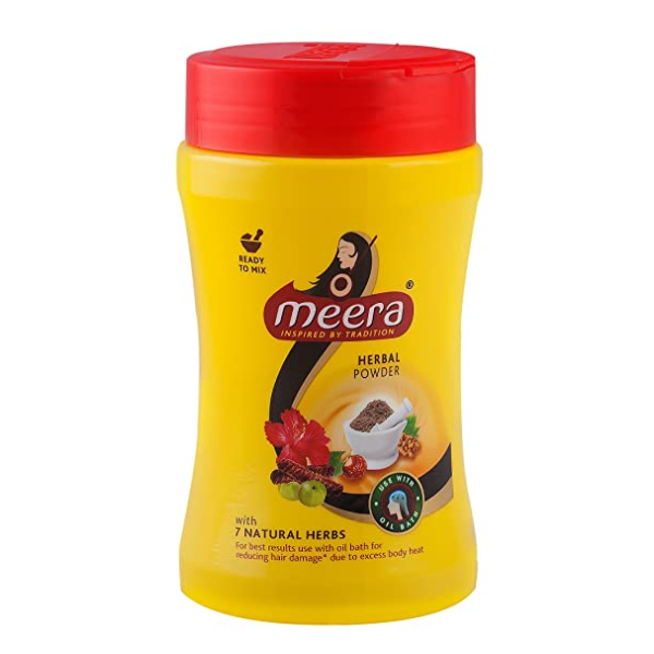 Meera Hair Wash Powder 120g