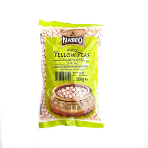 Natco Whole Yellow Peas 500g