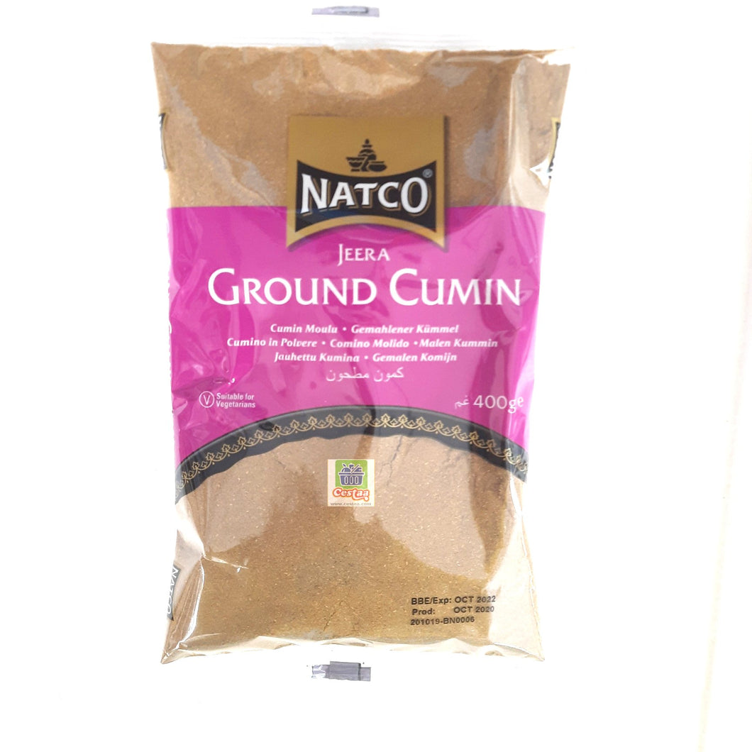 Natco Cumin Ground (Jeera Powder) 400g